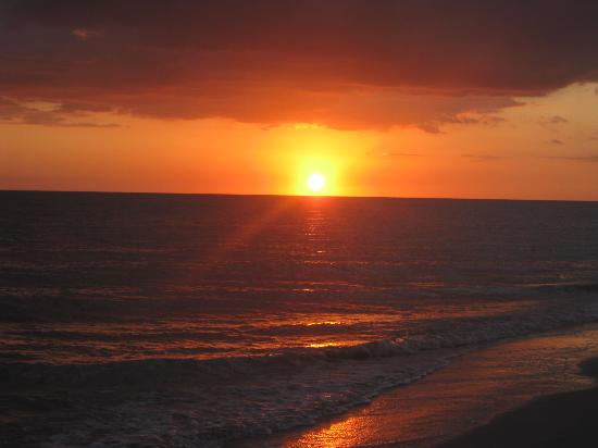 Sunset On The Beach Picture Of Waterside Inn On The