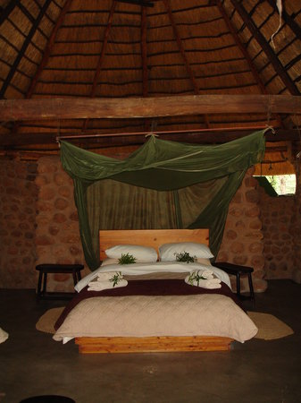 Stone Camp im Mkhaya Game Reserve