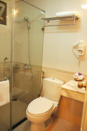 Art Hotel Hanoi: Enclosed shower