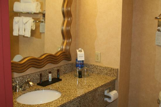 Embassy Suites Dallas Frisco: Bathroom vanity
