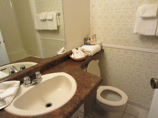 Howard Johnson Inn Kamloops: Bathroom