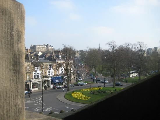 The Crown Hotel: View from room 228