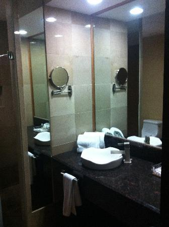 Holiday Inn Express Nuevo Laredo, Tamps: Otra vista del lavabo