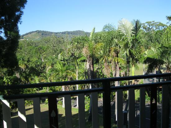 Paradise Palms: View from balcony