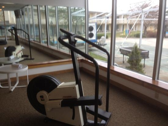 Lancaster Host Resort and Conference Center: stair master