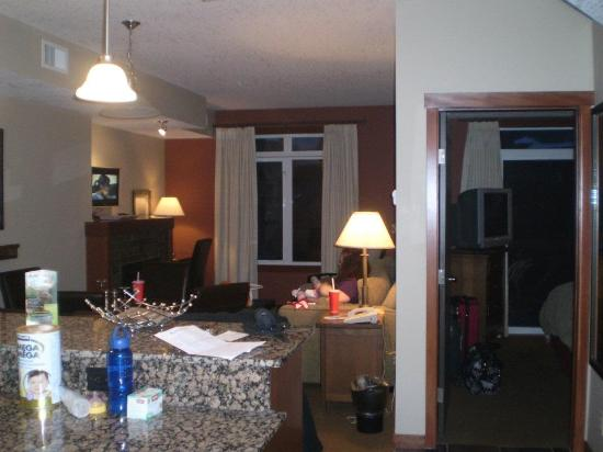Blackstone Mountain Lodge: The suite
