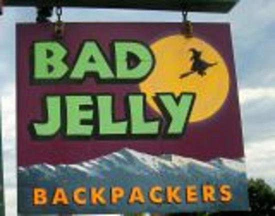 Bad Jelly Backpackers: SIGN