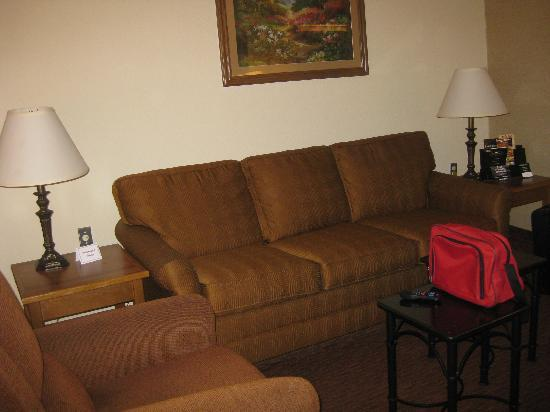 Drury Inn & Suites San Antonio Northeast: couch, recliner