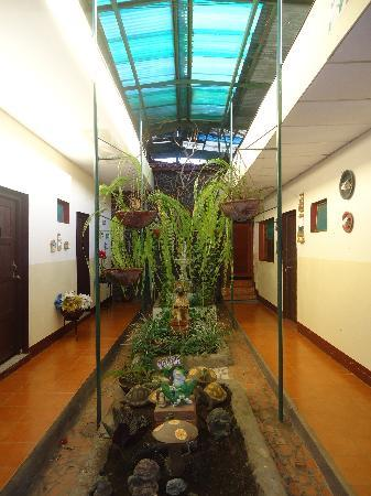 Hotel El Raizon: Between some of the rooms