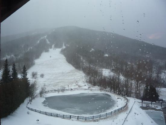Mittersill Alpine Resort: this was the view from our room,always some thing nice to look at.
