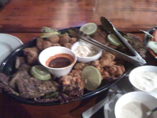 Our Fish Fry at Hotel Coco Palms