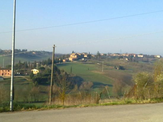 Casa Cecchi B&amp;B : La stupenda vista sulle colline 