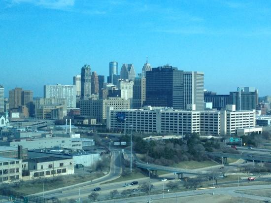 Room with a view picture of motorcity casino hotel for Motor city casino com stay