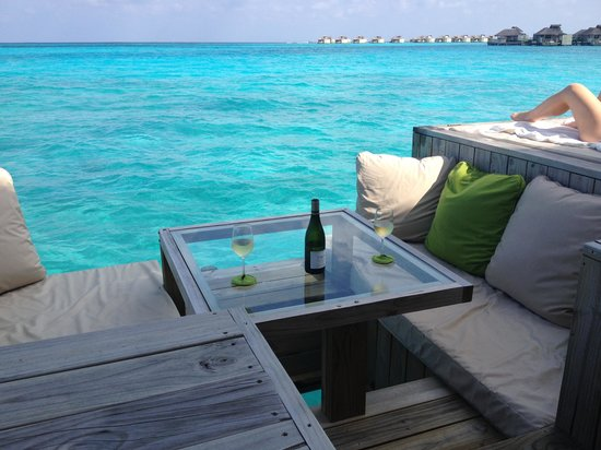 Six Senses Laamu: deck