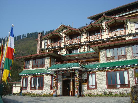 Frontal View Of The Resort