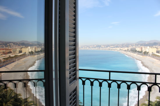 Hotel Suisse: Sea view from a room