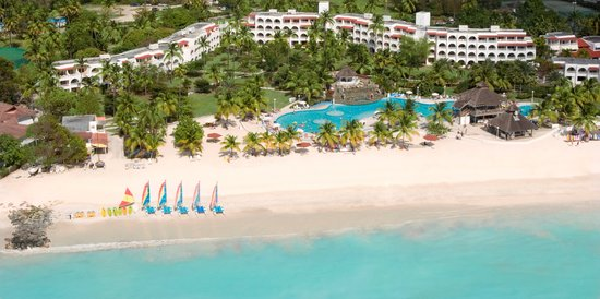 Jolly Beach Resort &amp; Spa: An Aerial View of the Resort