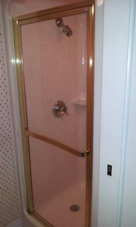 Sleep Inn Billy Graham Parkway: Shower only, no tub