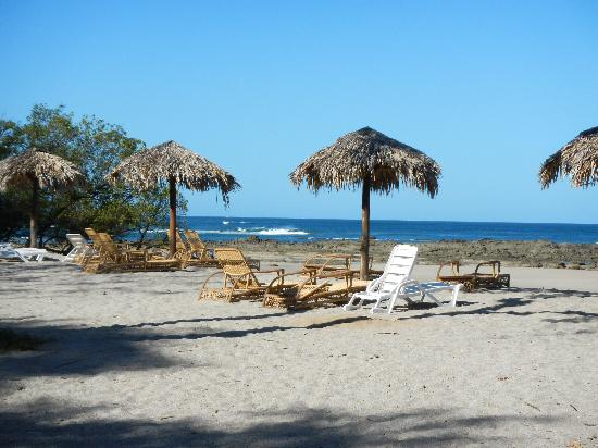 La Posada at Hacienda Pinilla: Beach inside the property of the hotel