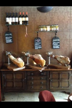 Darlington, UK : iberico ham & Rioja