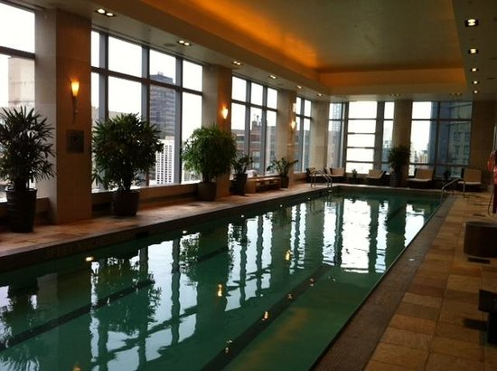 Mandarin Oriental, New York: Lovely swimming pool