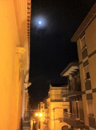 San Giorgio Palace Hotel: view from our balcony at night