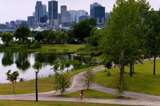 Montreal, Canada: Lafontaine Park  Downtown