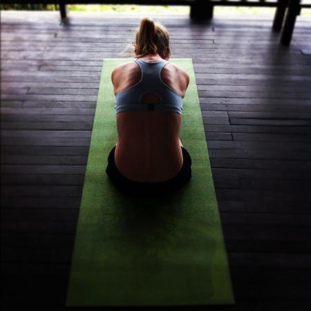 Proyecto Lodge: yoga at the lodge