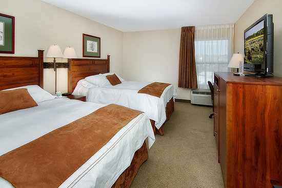 Boothill Inn & Suites : All linens that touch our guests are washed clean and fresh with every check out.