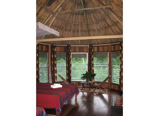 Pook&#39;s Hill Lodge: Birdwalk cabanas have a sitting area and deck (not pictured)