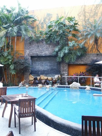 Hotel Rio Malecon Puerto Vallarta: The pool inside coexist-