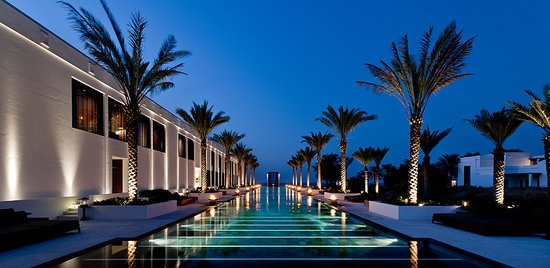 The Chedi Muscat, a GHM hotel: The Long Pool