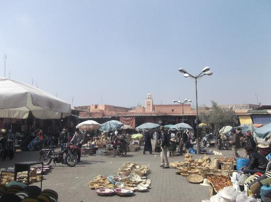Albatros Garden: The square in the Medina