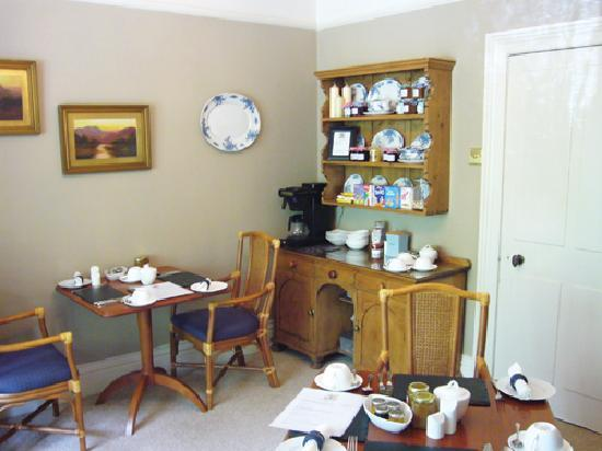 Lakes End Guest House: Breakfast Room