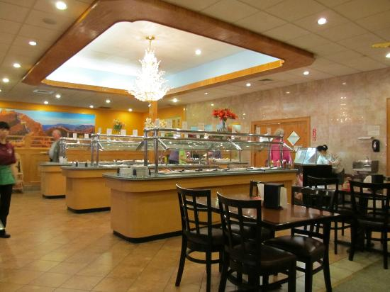 Buffet layout picture of chinatown indian trail