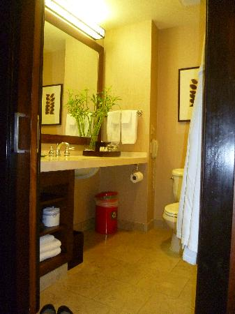The Ambrose Hotel: bathroom vanity