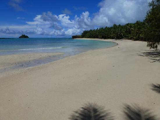 Turtle Island, Fiji: Devil's Beach, our private getaway.