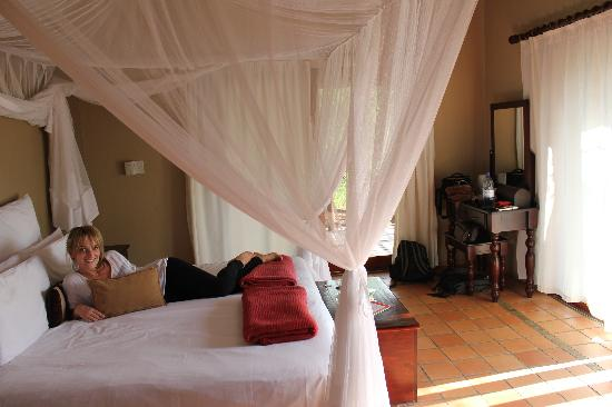 Toro Yaka Bush Lodge: Our room
