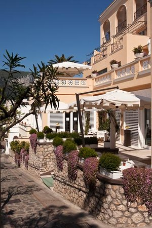 Capri Tiberio Palace