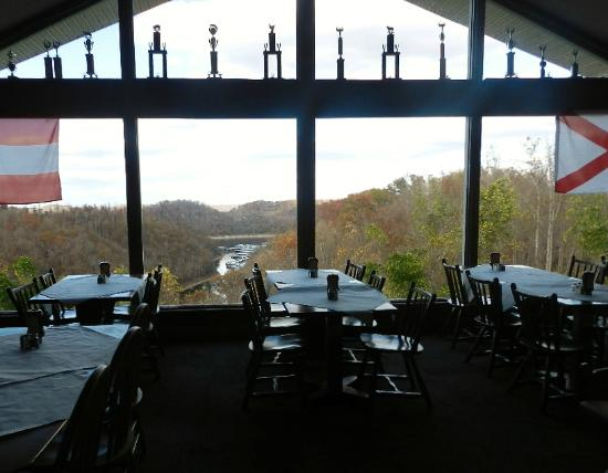 Center Hill Restaurant & Motel, Inc.: View from dining room