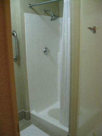 Holiday Inn Express Hotel & Suites Pasadena-Colorado Blvd.: tiny shower!