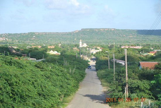 Kralendijk, Bonaire : Vieuw from the top of the hill