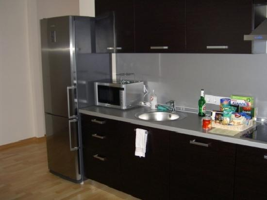 Senator Apartments Executive Court: Kitchen