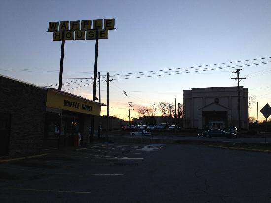 Comfort Inn Nashville/White Bridge: the Waffle House, in the parking lot