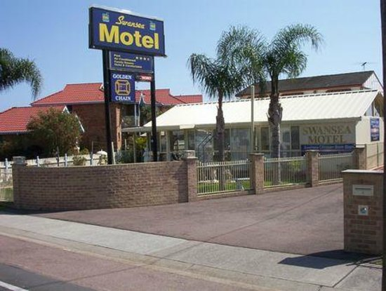 Swansea, Australia: Motel Entrance Way