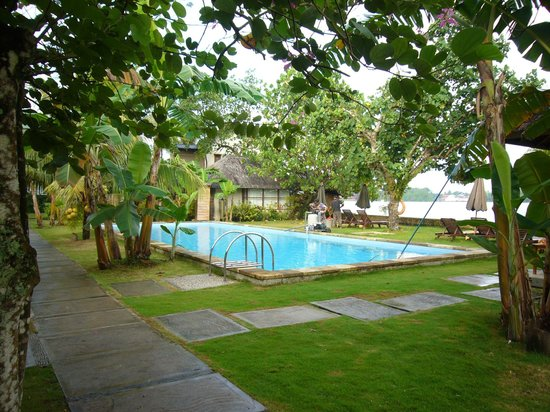 Cocotinos Manado: Small but good enough for a swim and a dip