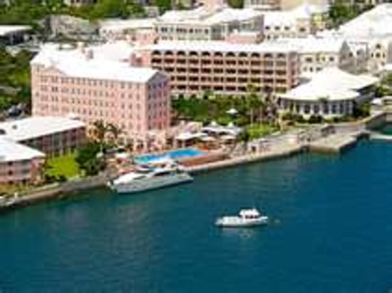 The Fairmont Hamilton Princess : Hotel 