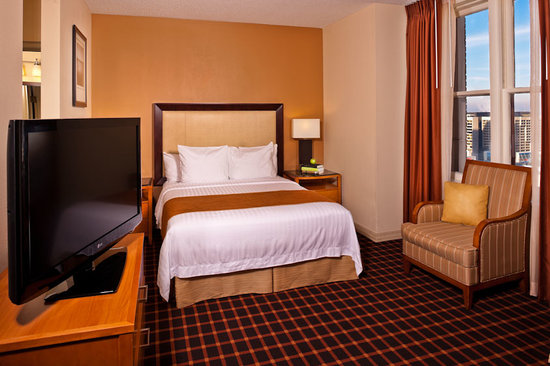 Residence Inn Atlanta Downtown: Studio Sleeping Area