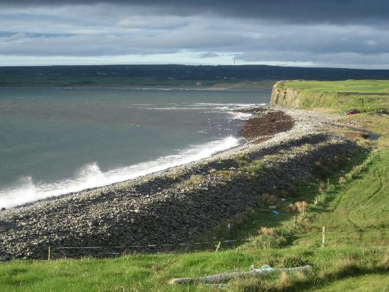 Moy House: View of the Coast from the Front Lawn