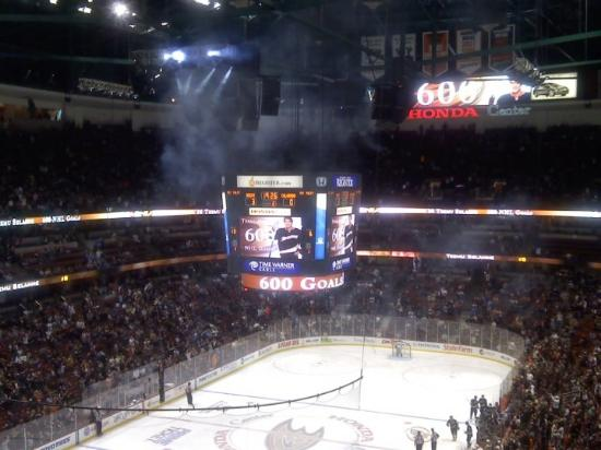 View From Section 419 Picture Of Honda Center Anaheim